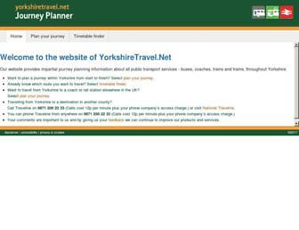 yorkshiretravel.net screenshot