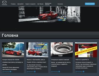 Thumbshot of Mazda.ua