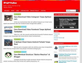 andronet7.blogspot.com screenshot