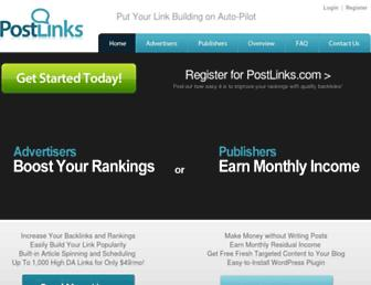 Thumbshot of Postlinks.com