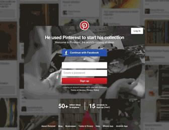 Thumbshot of Pinterest.com