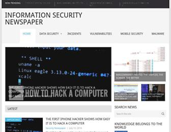 securitynewspaper.com screenshot