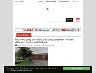 Thumbshot of Gravesendreporter.co.uk