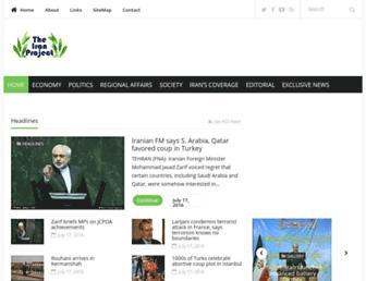 theiranproject.com screenshot