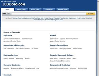 Thumbshot of Lulusoso.com