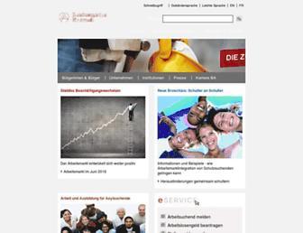 Thumbshot of Arbeitsagentur.de