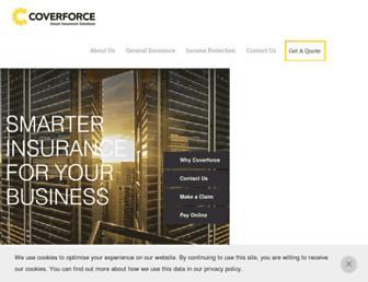coverforce.com.au screenshot