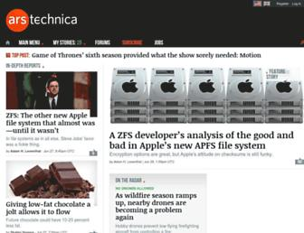 arstechnica.com screenshot