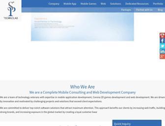 Thumbshot of Sptechnolab.com