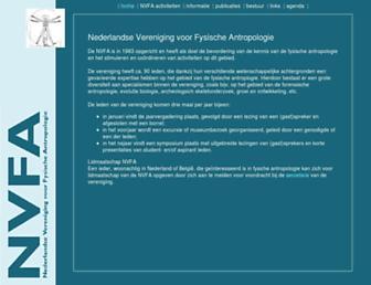 nvfa.nl screenshot