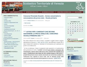 Thumbshot of Istruzionevenezia.it
