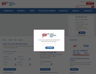 chicago.aaa.com screenshot
