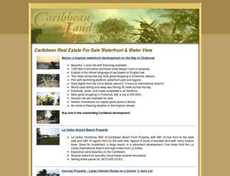 caribbeanland.net screenshot