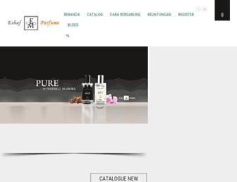 parfumfmeropa.com screenshot
