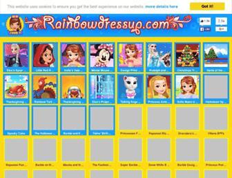 Thumbshot of Rainbowdressup.com