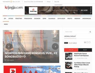 krjogja.com screenshot
