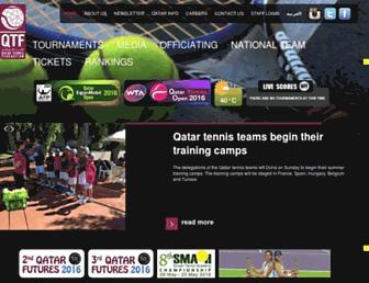 Thumbshot of Qatartennis.org