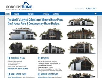 concepthome.com screenshot