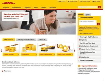 Thumbshot of Dhl.co.in