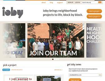 Thumbshot of Ioby.org
