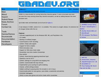 gbadev.org screenshot