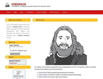Thumbshot of Voidspace.org.uk