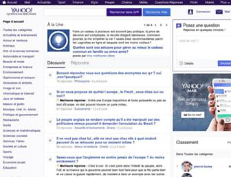 fr.answers.yahoo.com screenshot