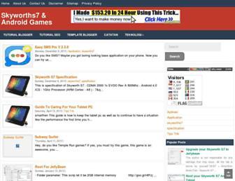 skyworths7.blogspot.com screenshot