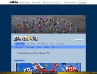 powerrangers.wikia.com screenshot