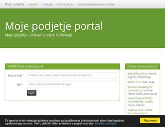 moje-podjetje.net screenshot