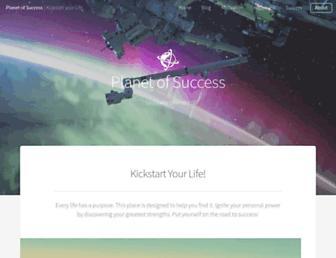 planetofsuccess.com screenshot