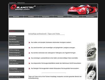 Main page screenshot of autopflege-premium.de
