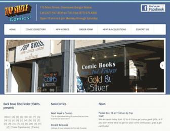 tcomics.com screenshot