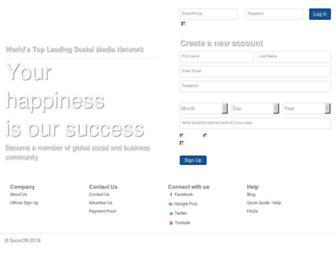 socioon.com screenshot