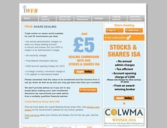 Thumbshot of Iwebsharedealing.co.uk