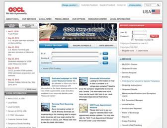 oocl.com screenshot