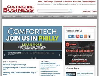 contractingbusiness.com screenshot