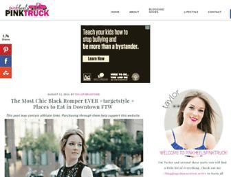 Thumbshot of Pinkheelspinktruck.com