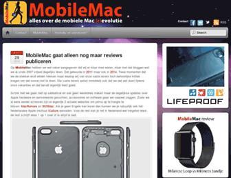 mobilemac.nl screenshot