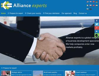 allianceexperts.com screenshot