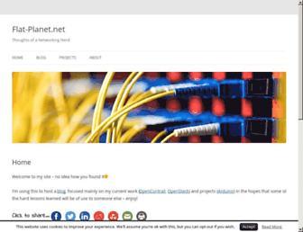 flat-planet.net screenshot