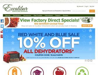 Thumbshot of Excaliburdehydrator.com