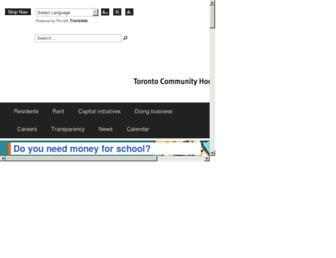torontohousing.ca screenshot