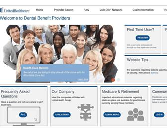 dbp.com screenshot