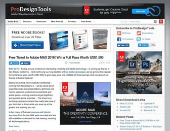 prodesigntools.com screenshot