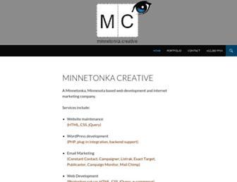 minnetonkacreative.com screenshot