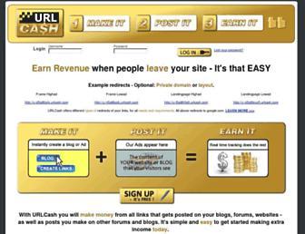 Thumbshot of Urlcash.com