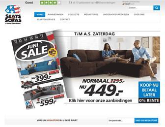 seatsandsofas.nl screenshot