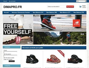 dimapro.fr screenshot