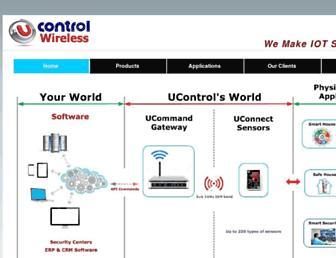 u-controls.com screenshot